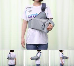 左肩用の外旋位固定の外見写真