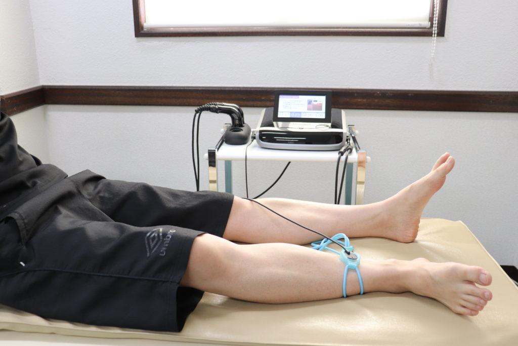 低出力超音波パルス療法(LIPUS)の施術イメージ 1